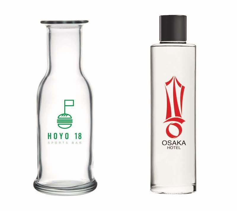 Personalización marca botellas de agua
