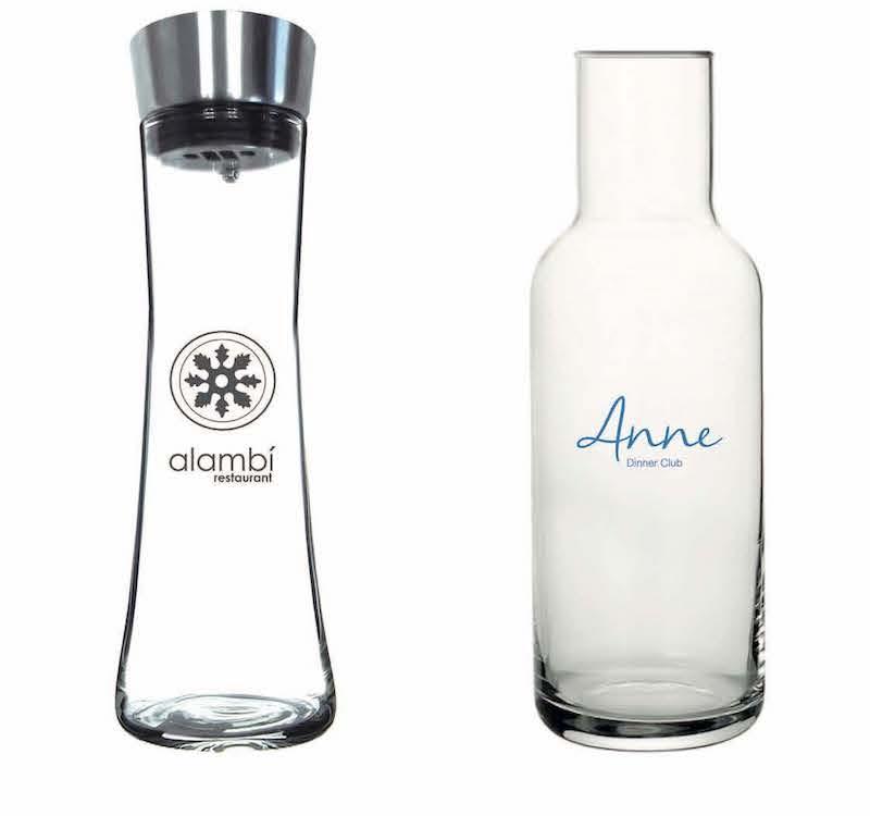 Personalización botellas hostelería