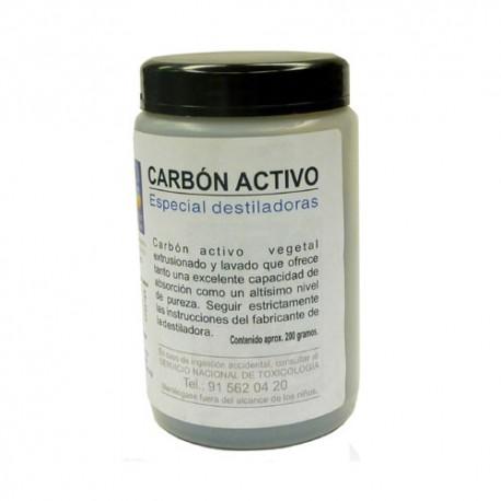 Carbón activo a granel para destiladoras