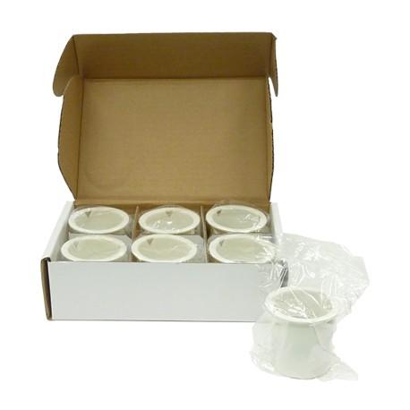 Filtros de recambio para la destiladora D, H, I.